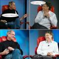 Диалог Джобса и  Гейтса о Skype
