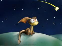 Сказка о маленькой звездочке.
