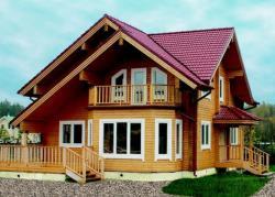 Дома из бруса - деревянные дома нового поколения.