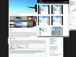 Бесплатный конструктор сайтов - CMS Jimdo