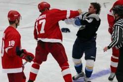 «Витязь» vs «Авангард»: ледовое побоище