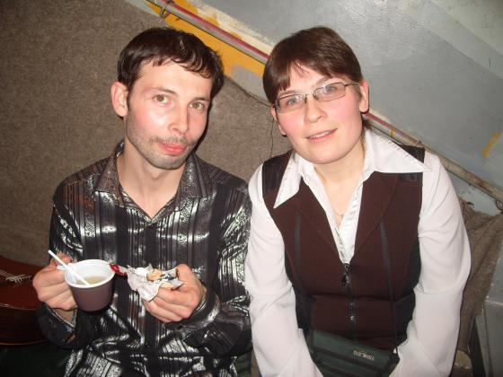 Кирилл Модестов и Наташа ответы за чаем.