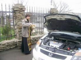 А стоит ли «святить» свой автомобиль?