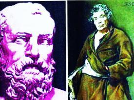 Два мудреца – две судьбы, два взгляда на мир…