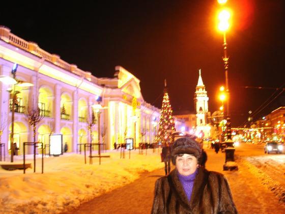 Долгая зимняя ночь после Рождества...