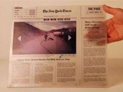 The Page — электронная бумага для электронных газет