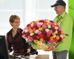 Доставка цветов – самый приятный неожиданный подарок.