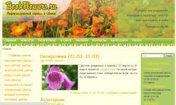 Bookflowers.ru - информационный портал о цветах