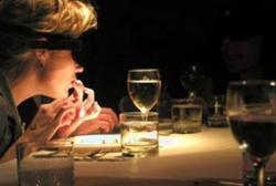 Ресторан «В темноте» - любителям острых ощущений