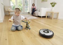 Как работает робот пылесос?