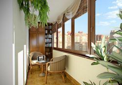 Как осуществляется обшивка лоджий и балконов?