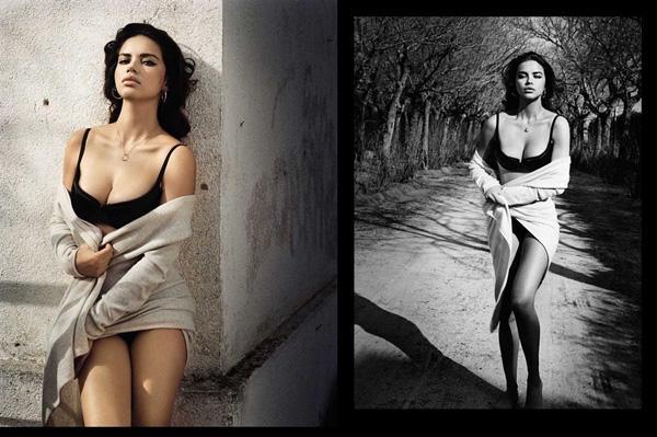 Адриана Лима для Vogue
