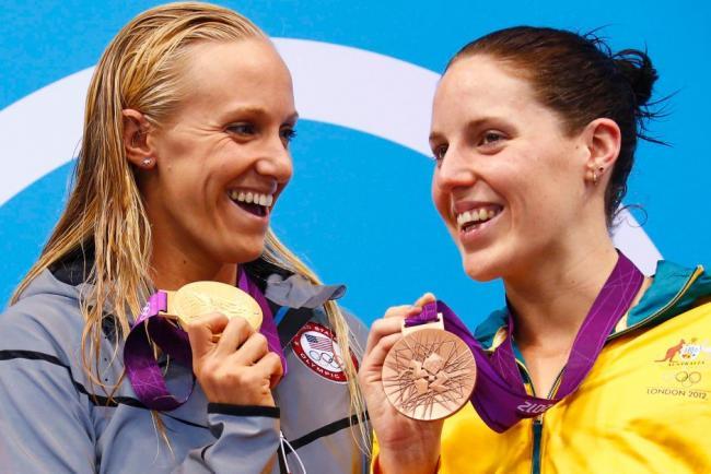 Американка Дана Воллмер завоевала золотую медаль Олимпийских игр в Лондоне