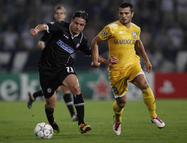 БАТЭ вышел в групповой раунд Лиги чемпионов