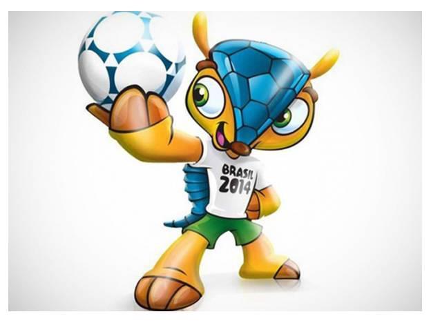 Броненосец стал официальным талисманом Евро 2014
