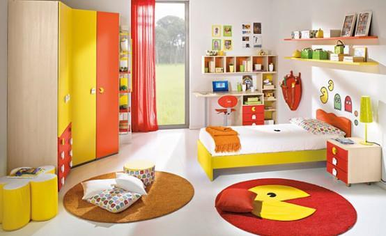 Детская комната в стиле Pacman