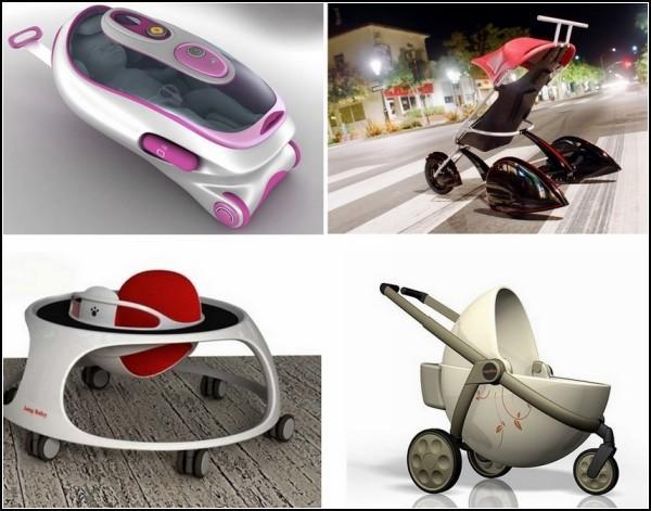 Дизайнерские детские коляски