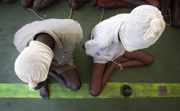 Два сомалийских пирата
