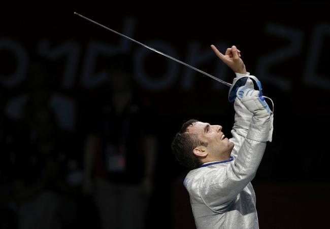 Фехтовальщик Арон Силадьи завоевал золотую медаль на Олимпийских играх в Лондоне