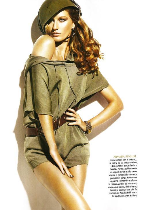 Жизель Бюндхен в Vogue Mexico
