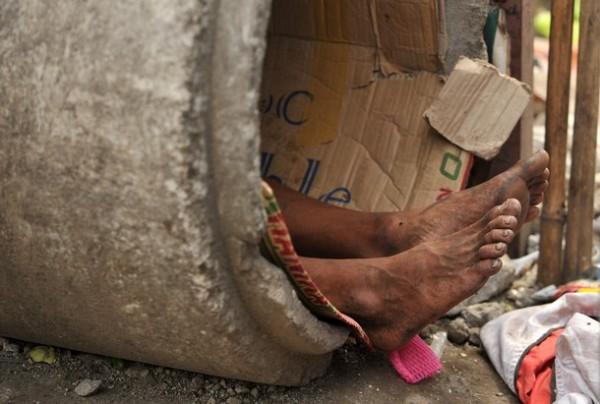 Жизнь бездомных на Филиппинах