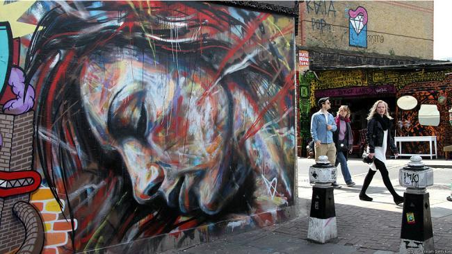 Граффити Лондона