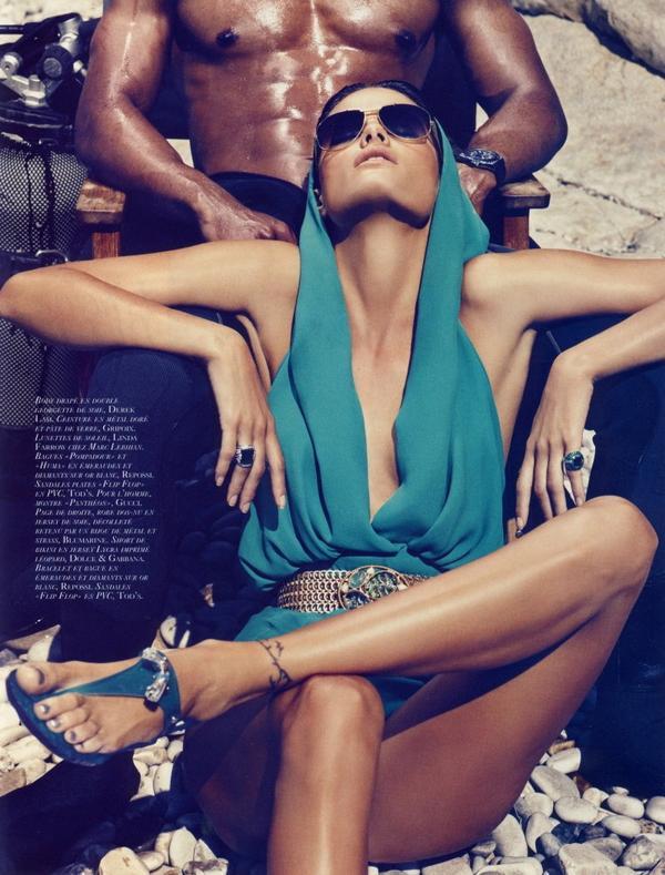Изабели Фонтана для Vogue Paris