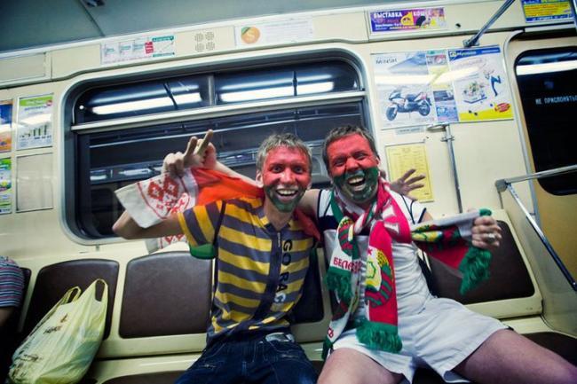 Как белорусы готовились к футболу?