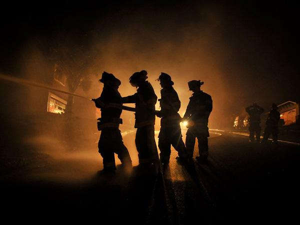 Калифорнийские пожарные