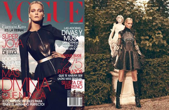 Кармен Касс снялась для обложки Vogue Latin America