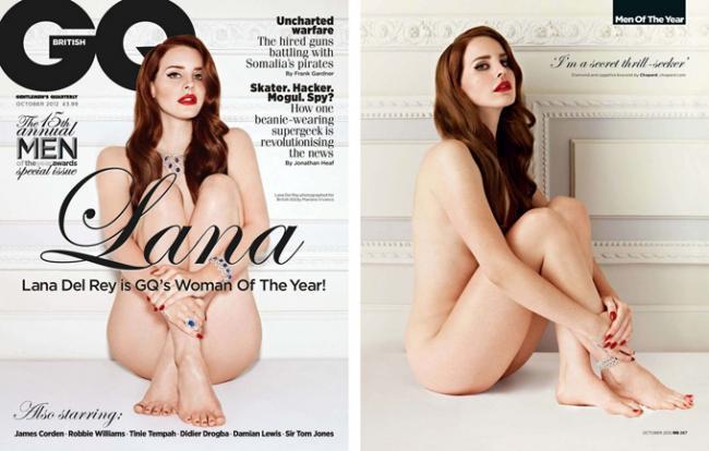 Лана Дель Рей (Lana Del Rey) обнажилась для GQ