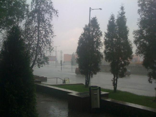Ливень в Минске