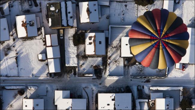 Международная неделя воздушных шаров в Швейцарии