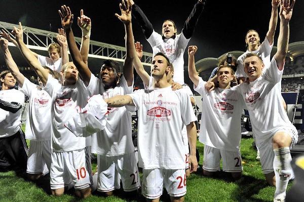 Мюнхенская «Бавария» в финале Лиги Чемпионов