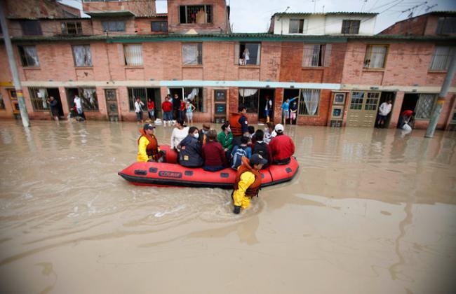 Наводнение в Колумбии - 136 жертв