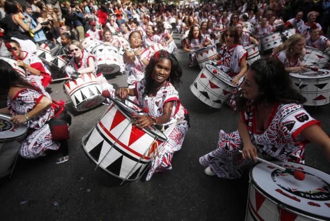 Ноттинг-хиллский карнавал начинается в Лондоне