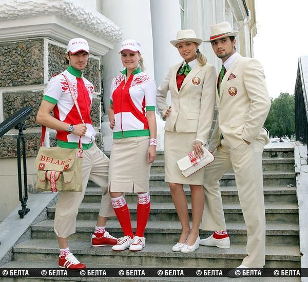 Новая форма белорусских олимпийцев