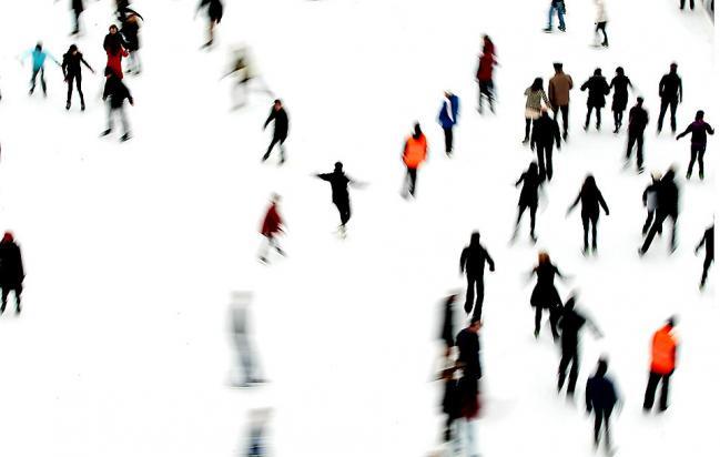 Перед шоу Большие танцы на льду