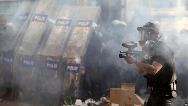 Полицейская операция на площади Таксим