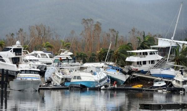 Последствия циклона Яси