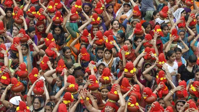Праздник 40-дневного поста в Индии