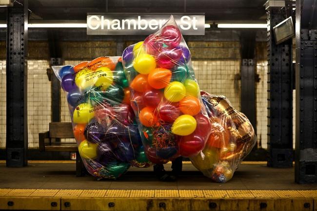 Продавец шариков