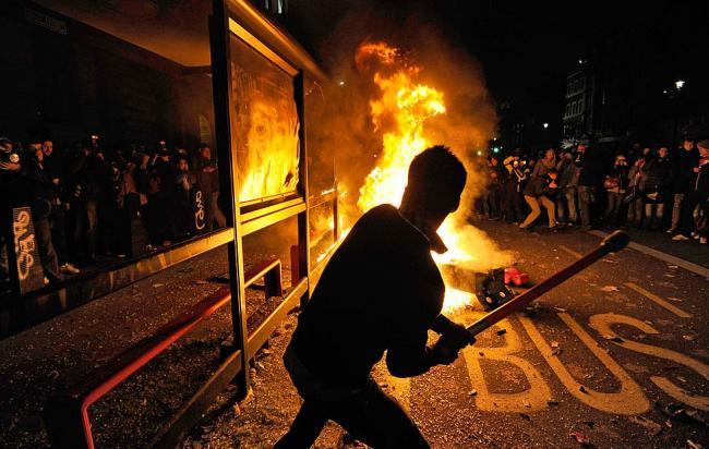 Продолжение студенческих протестов в Лондоне