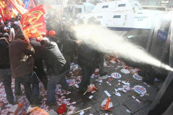 Протесты в Анкаре