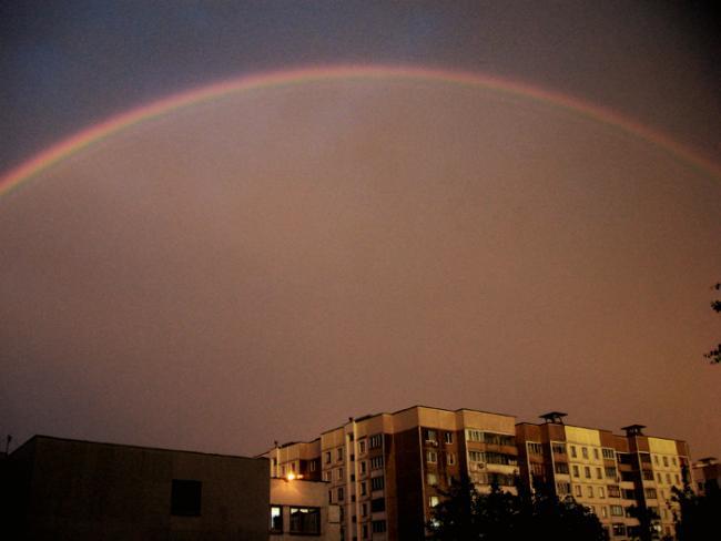 Радуга в радуге в Малиновке