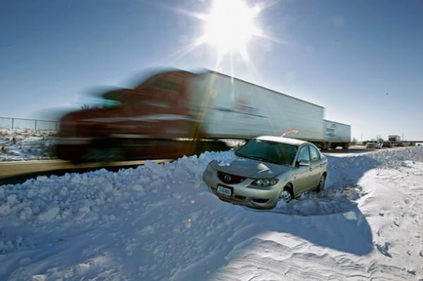 Результаты снегопадов в США