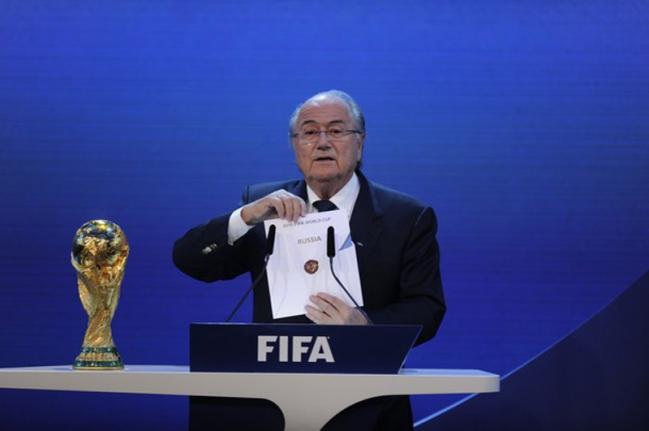 Россия проведет чемпионат мира по футболу Россия 2018