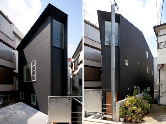 Самый узкий дом от Atelier Tekuto