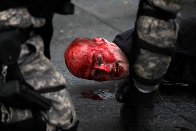 Трагический гей-парад в Белграде