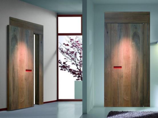 Уникальные деревянные двери